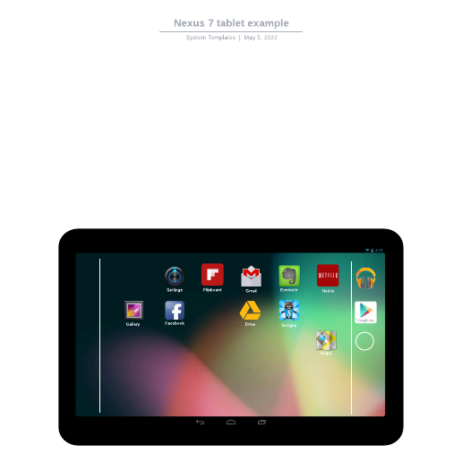 Nexus 7 tablet example