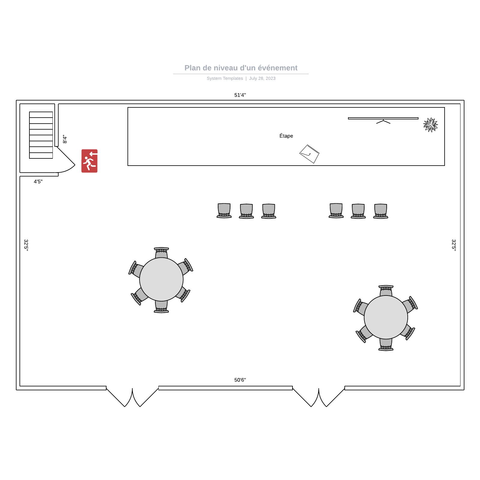 exemple de plan de niveau d'un événement 1