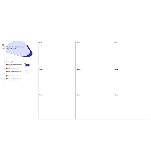 How is your day going? team activity template