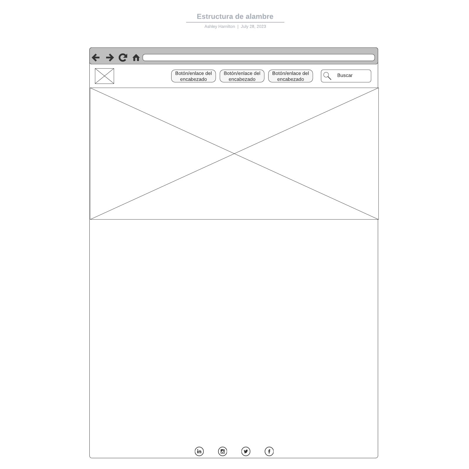 Estructura de alambre