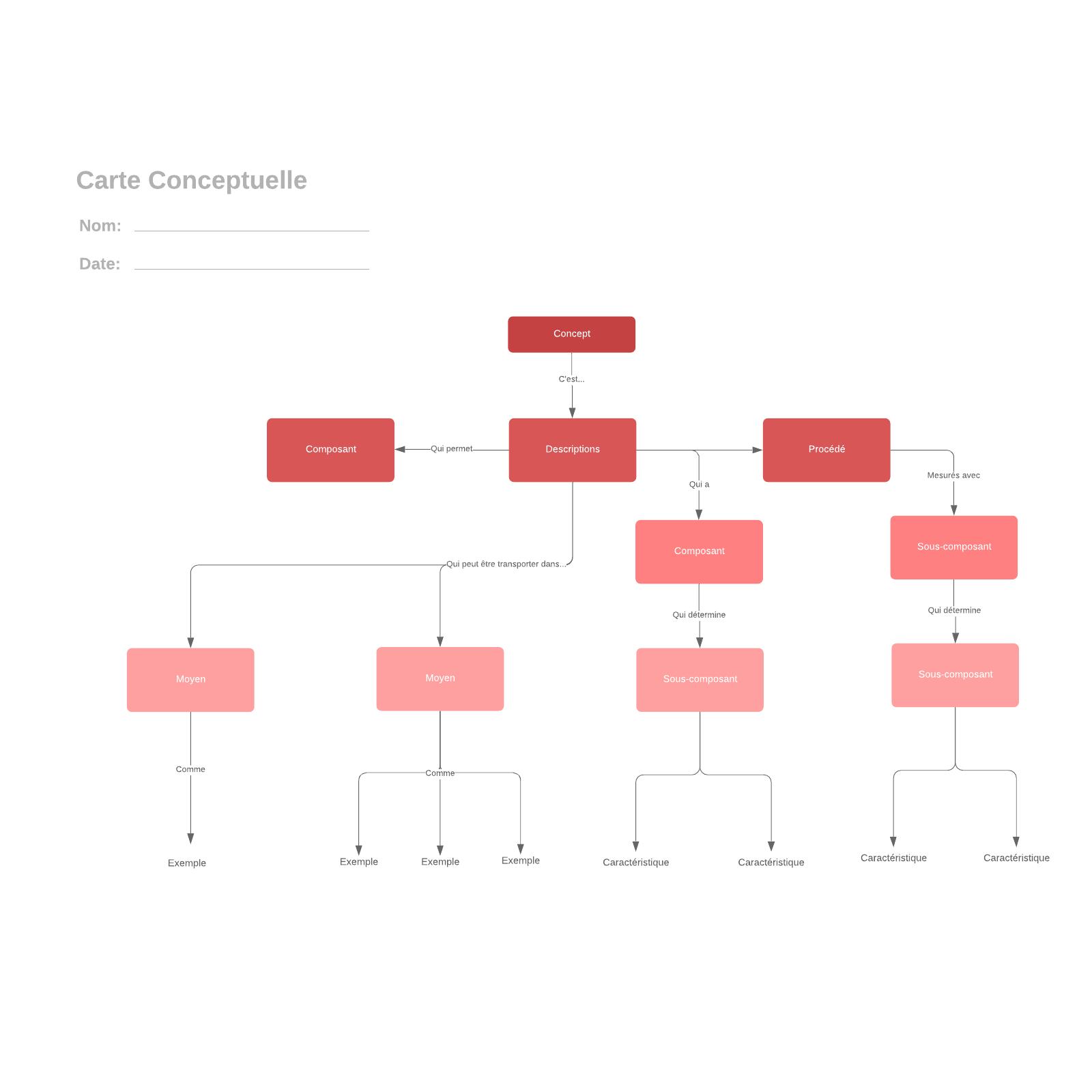 exemple de carte conceptuelle simple