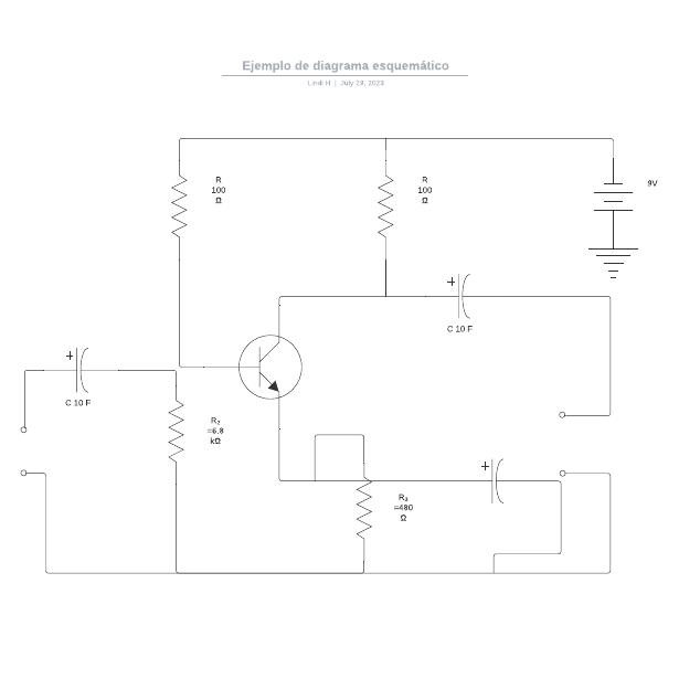 Ejemplo de diagrama esquemático