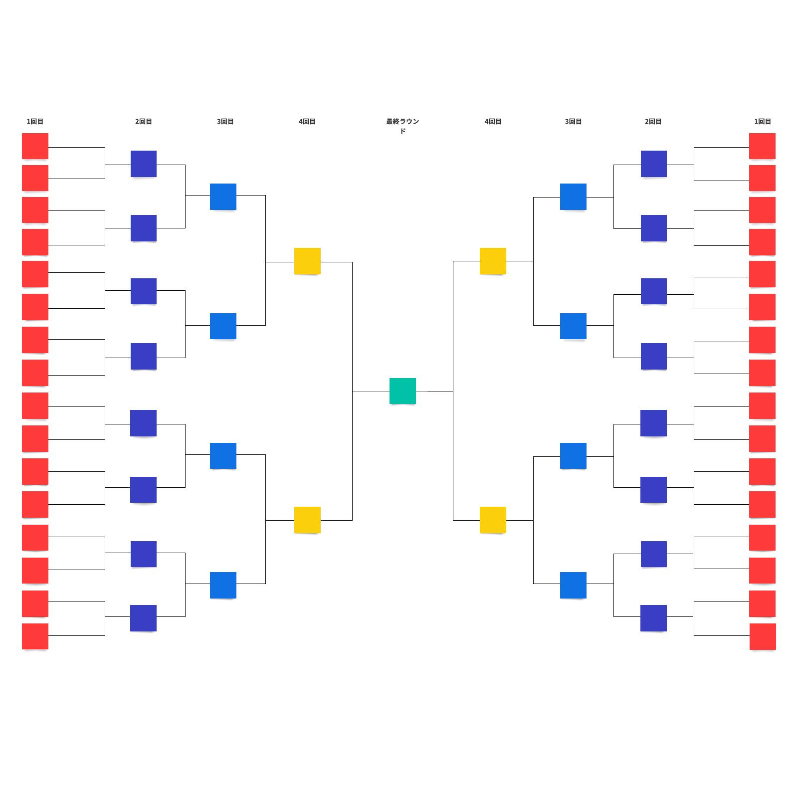 対戦表テンプレート