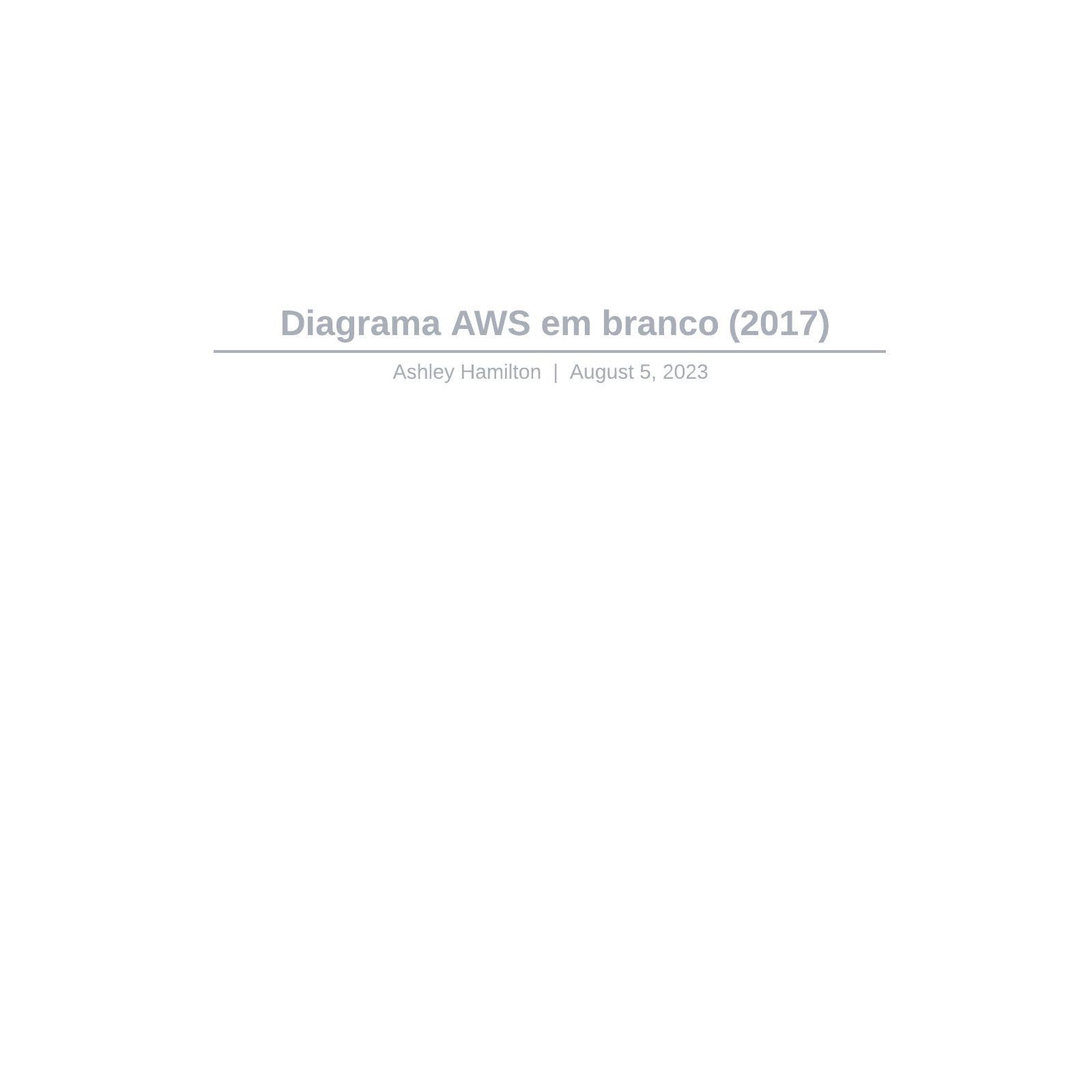 Diagrama AWS em branco (2017)