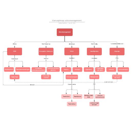 Conceptmap salesmanagement