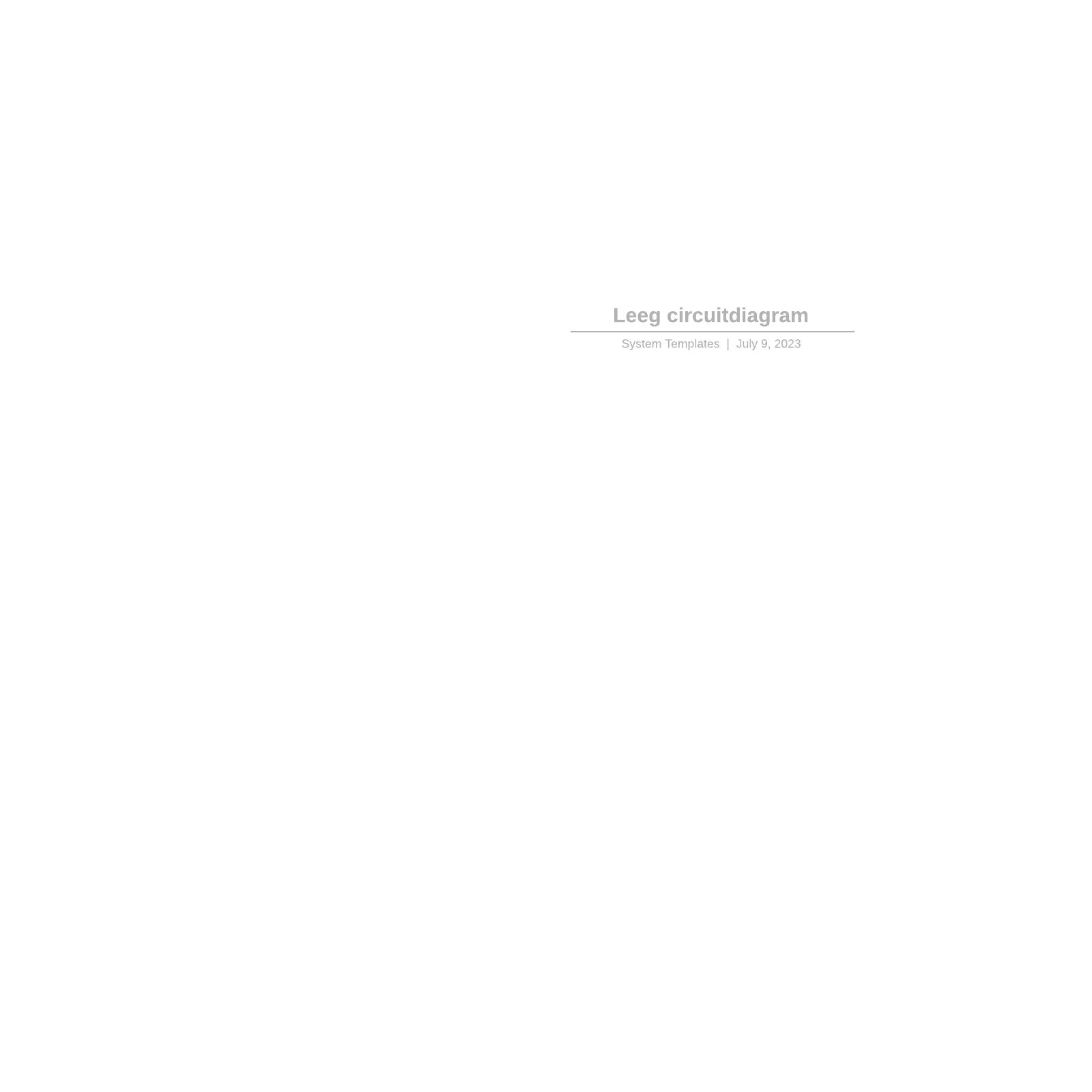 Leeg circuitdiagram