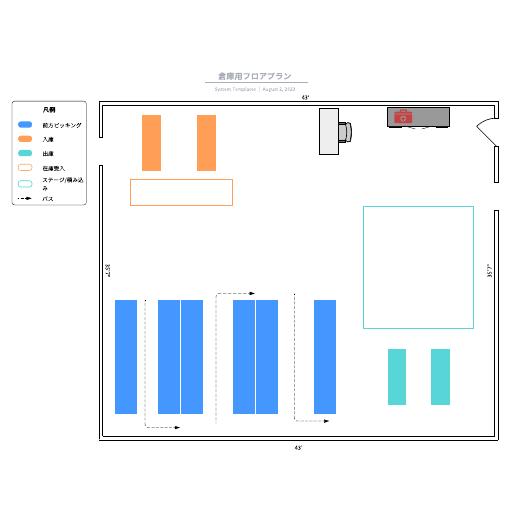 間取り図(フロアプラン)に使えるテンプレート