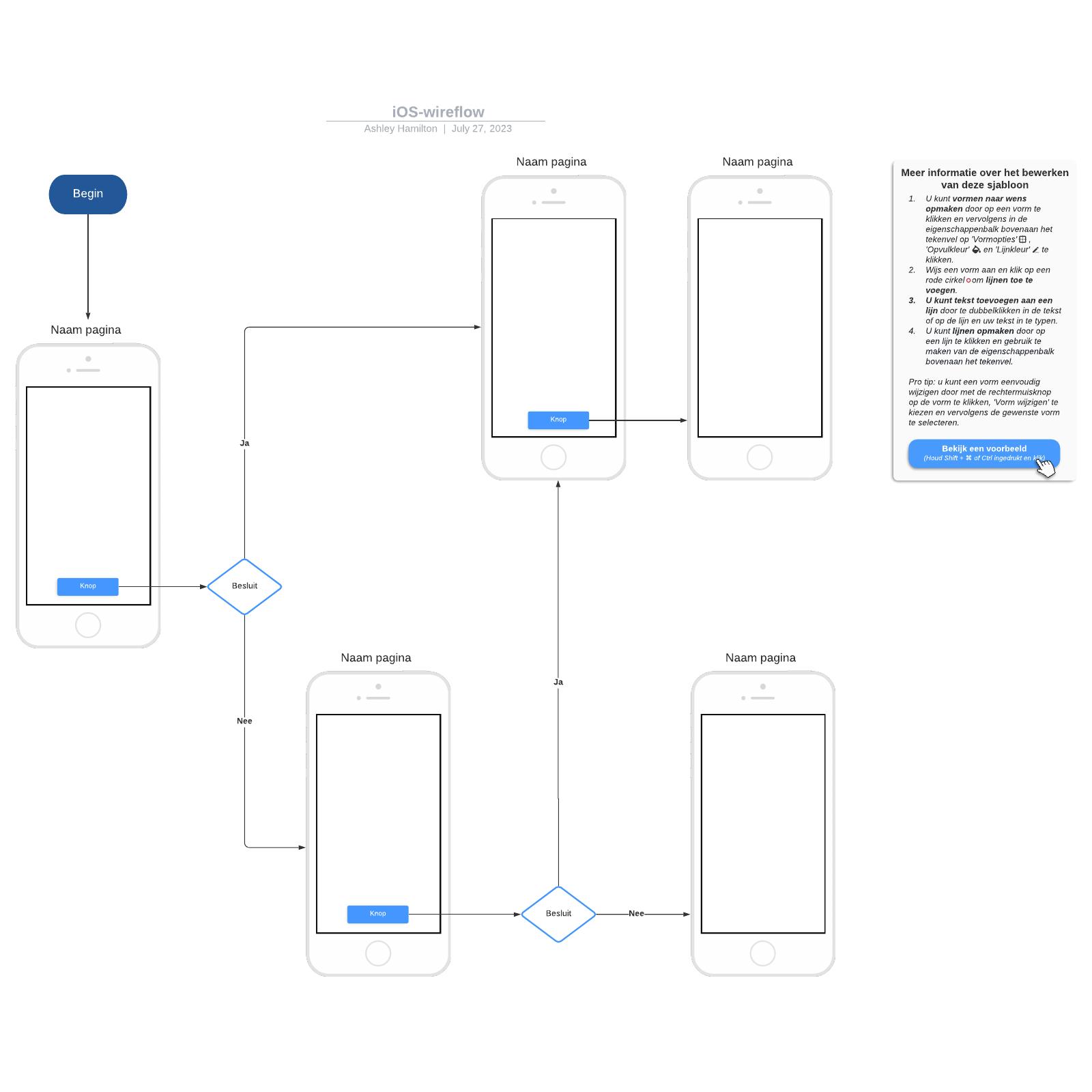 iOS-wireflow