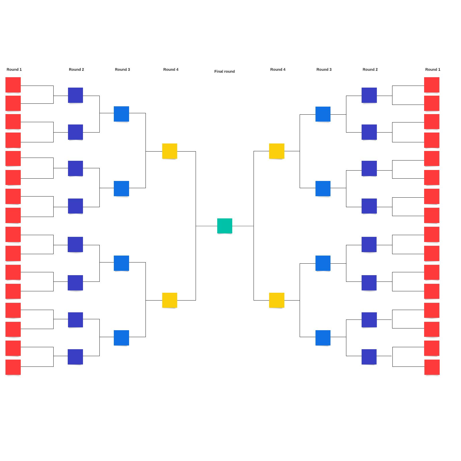 Bracket template