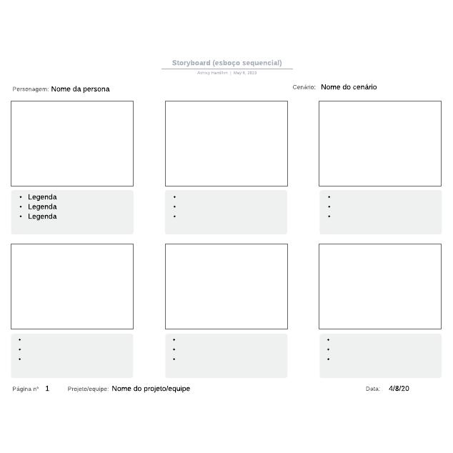 Storyboard (esboço sequencial)