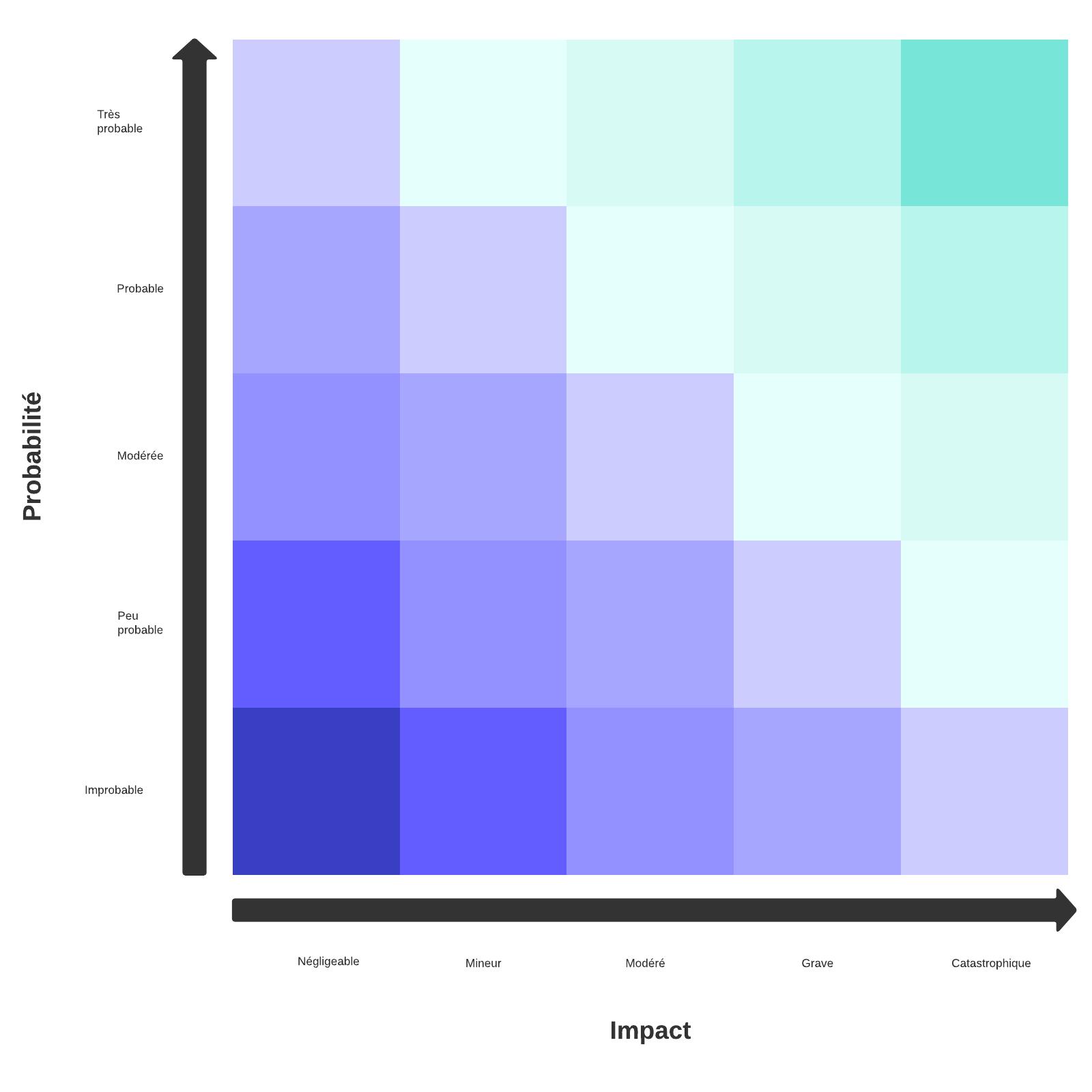 modèle de matrice des risques