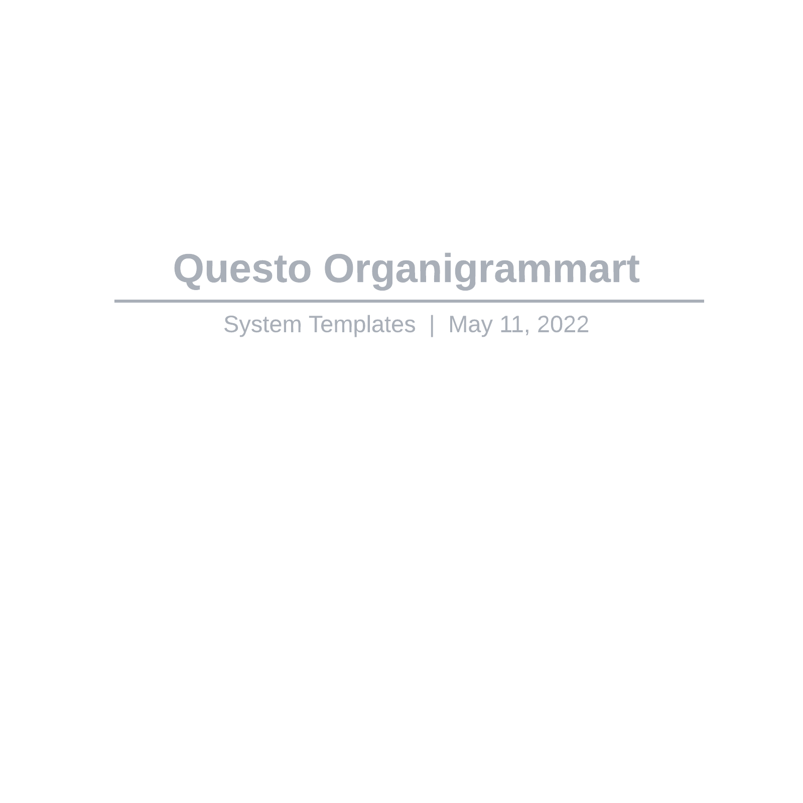 Questo Organigrammart