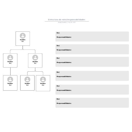 Estructura de roles/responsabilidades