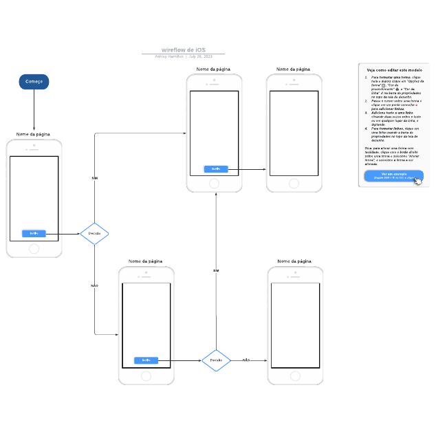 wireflow de iOS