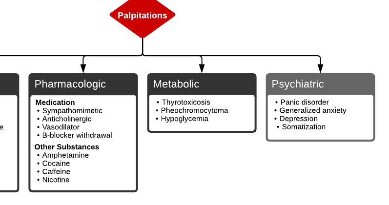 Differential Diagnosis of Palpitations
