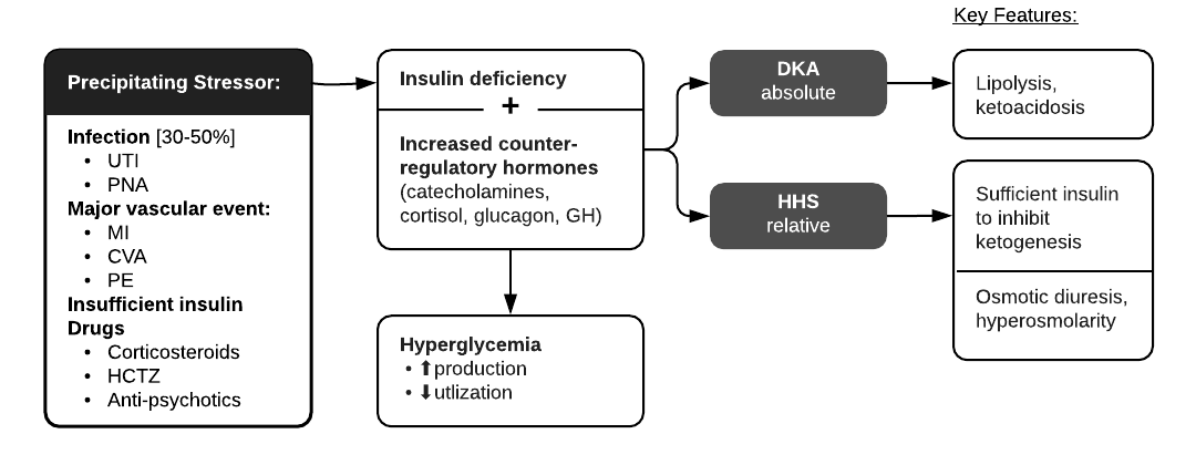 Evaluation of Hyperglycemic Crises in Patients with Diabetes