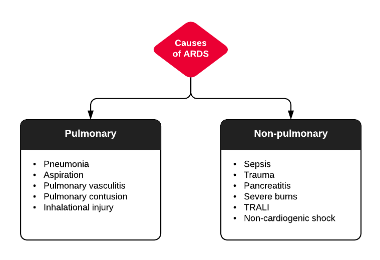 Causes of ARDS